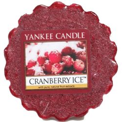 Yankee Candle Tart / Melt Cranberry Ice