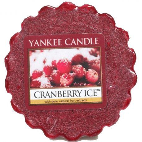 Yankee Candle Tart / Melt Cranberry Ice