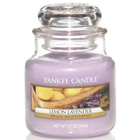 Yankee Candle Jar Glaskerze klein 104g Lemon Lavender