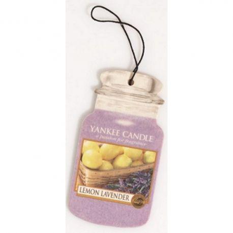 Yankee Candle Car Jar Lemon Lavender