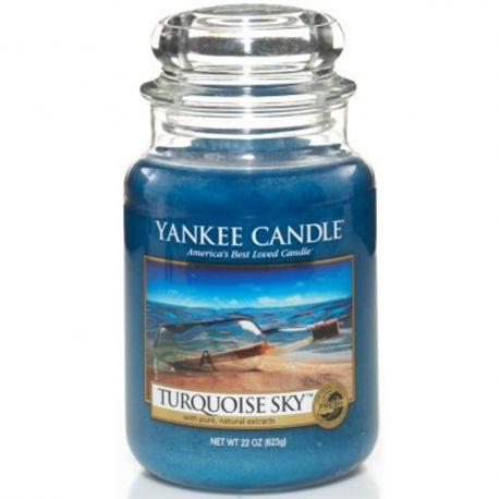 Yankee Candle Jar Glaskerze groß 623g Turquoise Sky *