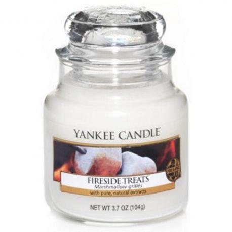Yankee Candle Jar Glaskerze klein 104g Fireside Treats *