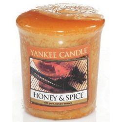Yankee Candle Sampler Votivkerze Honey & Spice