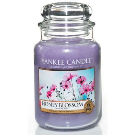 Yankee Candle Jar Glaskerze groß 623g Honey Blossom *