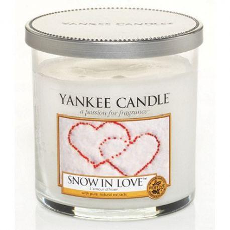 Yankee Candle 1 Docht Regular Tumbler Glaskerze klein 198g Snow in Love