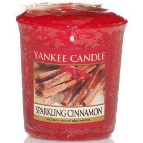 Yankee Candle Sampler Votivkerze Sparkling Cinnamon *