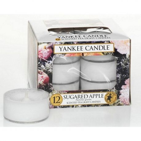 Yankee Candle Teelichter 12er Pack Sugared Apple *