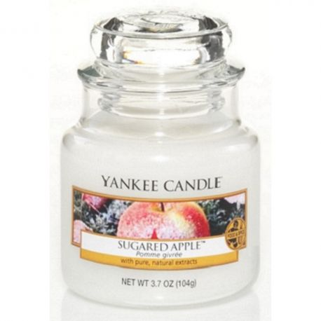 Yankee Candle Jar Glaskerze klein 104g Sugared Apple *