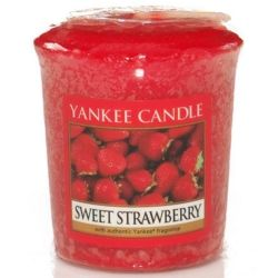 Yankee Candle Sampler Votivkerze Sweet Strawberry *