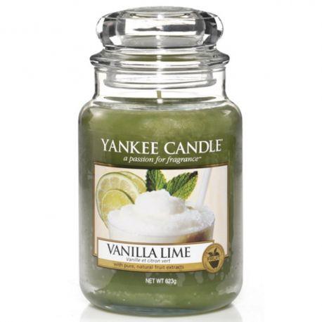 Yankee Candle Jar Glaskerze groß 623g Vanilla Lime
