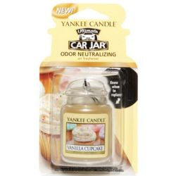 Yankee Candle Car Jar Ultimate Vanilla Cupcake