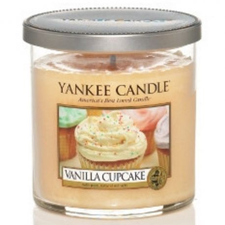 Yankee Candle 1 Docht Regular Tumbler Glaskerze klein 198g Vanilla Cupcake *