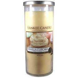 Yankee Candle Pillar Glaskerze gross 566g Vanilla Cupcake *