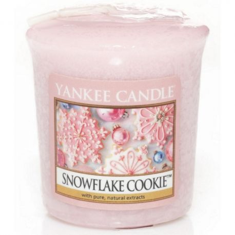 Yankee Candle Sampler Votivkerze Snowflake Cookie