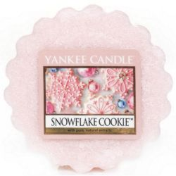 Yankee Candle Tart / Melt Snowflake Cookie