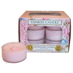 Yankee Candle Teelichter 12er Pack Snowflake Cookie