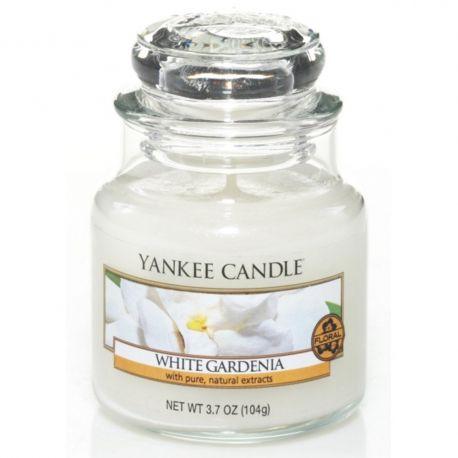Yankee Candle Jar Glaskerze klein 104g White Gardenia *