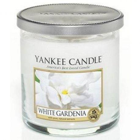 Yankee Candle 1 Docht Regular Tumbler Glaskerze klein 198g White Gardenia *