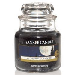 Yankee Candle Jar Glaskerze klein 104g Midsummers Night