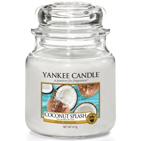 Yankee Candle Jar Glaskerze mittel 411g Coconut Splash