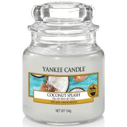 Yankee Candle Jar Glaskerze klein 104g Coconut Splash