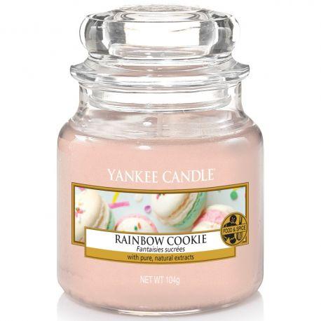 Yankee Candle Jar Glaskerze klein 104g Rainbow Cookie