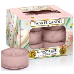 Yankee Candle Teelichter 12er Pack Rainbow Cookie
