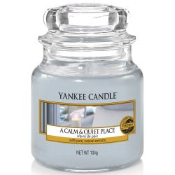 Yankee Candle Jar Glaskerze klein 104g A Calm And Quiet Place