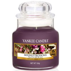 Yankee Candle Jar Glaskerze klein 104g Moonlit Blossoms