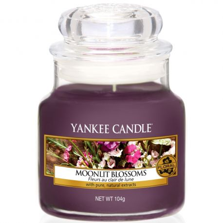 Yankee Candle Jar Glaskerze klein 104g Moonlit Blossoms