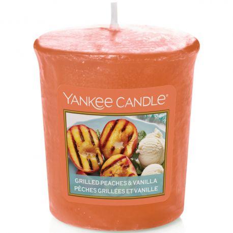 Yankee Candle Sampler Votivkerze Grilled Peaches & Vanilla