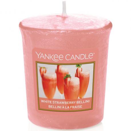 Yankee Candle Sampler Votivkerze White Strawberry Bellini