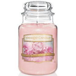 Yankee Candle Jar Glaskerze groß 623g Blush Bouquet
