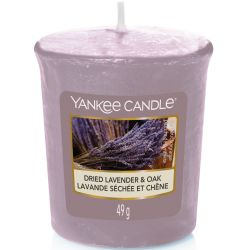 Yankee Candle Sampler Votivkerze Dried Lavender & Oak