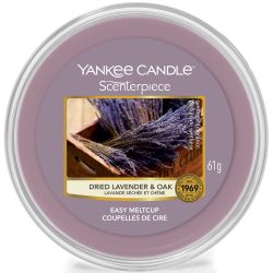 Yankee Candle Scenterpiece Easy MeltCup Dried Lavender & Oak