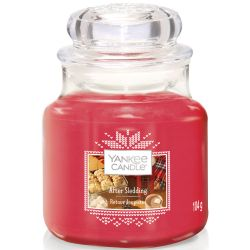 Yankee Candle Jar Glaskerze klein 104g After Sledding