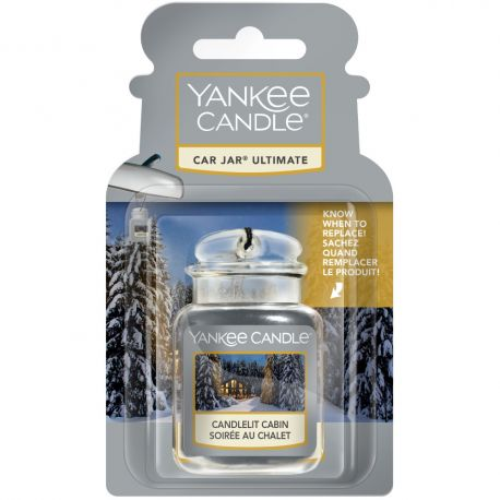 Yankee Candle Car Jar Ultimate Candlelit Cabin