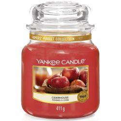 Yankee Candle Jar Glaskerze mittel 411g Ciderhouse