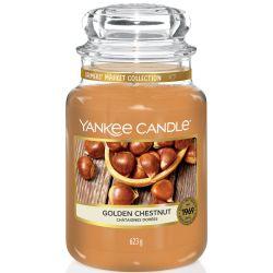 Yankee Candle Jar Glaskerze groß 623g Golden Chestnut