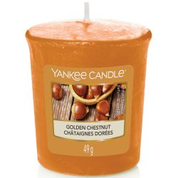 Yankee Candle Sampler Votivkerze Golden Chestnut