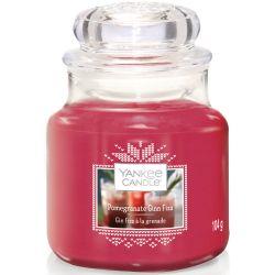 Yankee Candle Jar Glaskerze klein 104g Pomegranate Gin Fizz