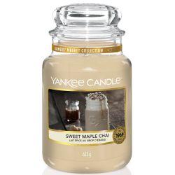 Yankee Candle Jar Glaskerze groß 623g Sweet Maple Chai