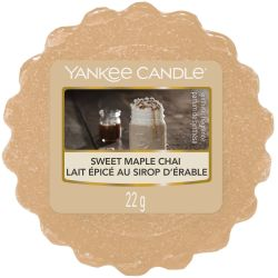 Yankee Candle Tart / Melt Sweet Maple Chai