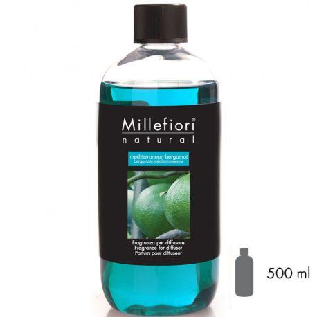 Mediterranean Bergamot Millefiori Natural Refill 500 ml