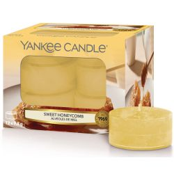Yankee Candle Teelichter 12er Pack Sweet Honeycomb