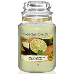 Yankee Candle Jar Glaskerze groß 623g Lime & Coriander