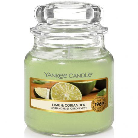 Yankee Candle Jar Glaskerze klein 104g Lime & Coriander