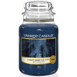 Yankee Candle Jar Glaskerze groß 623g A Night Under The Stars
