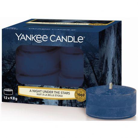Yankee Candle Teelichter 12er Pack A Night Under The Stars