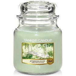 Yankee Candle Jar Glaskerze mittel 411g Afternoon Escape